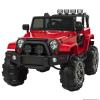 elektromoskisautok.eu Elektromos Kisautó Jeep Hellcat-Piros