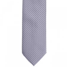 Elite Fashion Szürke mintás nyakkendő nyakkendő