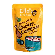 Ella's kitchen Bio csirkés casserole 190 g bébiétel