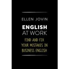 Ellen Jovin English at Work – Ellen Jovin idegen nyelvű könyv