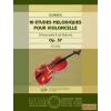 EMB 10 etudes melodiques pour violoncelle Op.57