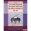 EMB 160 rövid gyakorlat Op. 821