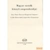 EMB Magyar szerzők könnyű zongoradarabjai