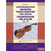 EMB Ujjgyakorlatok hegedűre Op.16