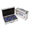 EMIKOO TLS lyukfúró készlet 30-35-40-45-50-60 mm - alumínium koffer