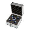 EMIKOO TLS lyukfúró készlet 6-12-14-16-27 mm - alumínium koffer
