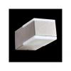 Emithor 63009 - TECRA LED-es kültéri fali lámpa 2xLED/3W ezüstszürke IP54