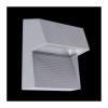 Emithor 70121 - RADIUS LED-es kültéri fali lámpa 3xLED/1W ezüst IP65