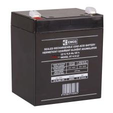 Emos ólomakkumulátor 12V, 4,5Ah (B9653) autó akkumulátor