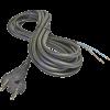 Emos S03150 FLEXO GUMI 3X1 H05RR-F fekete 5m szerelt kábel
