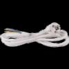 Emos S14313 FLEXO 3X1,0 H05VV-F 3m fehér szerelt kábel