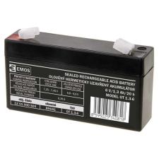Emos SLA ólomakkumulátor 6V 1,3Ah F1 (OT1.3-6) AGM autó akkumulátor