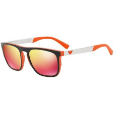 Emporio Armani EA4114 56766Q MATTE ORANGE RED MULTILAYER napszemüveg