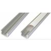 Energiahaza Alumínium U profil , 8 mm-es LED szalaghoz , 1 v 2 méter , MATT fedővel , NEKEM8