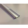 Energiahaza Alumínium U profil LED szalaghoz , rögzítőelemekkel , VÍZTISZTA fedővel , SURFACE