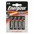 ENERGIZER Elem, AA ceruza, 4 db, ENERGIZER Alkaline Power (EEAA4AP)