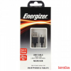 ENERGIZER Micro USB cable 1,2m, TPE housing Round Black