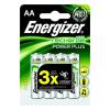 """ENERGIZER Tölthető elem, AA ceruza, 4x2000 mAh,  """"Power Plus"""""""