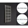 Enix Focus Radiátor 726W fehér 595x1238mm (F-613)