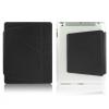ENKAY védő borító edzett műanyagból összecsukható allvánnyal Apple iPad 4 / 3 / 2 - fekete