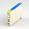 Epson nyomtatóhoz T0612 CIÁN utángyártott tintapatron kb.≈: 400 oldalas TO612