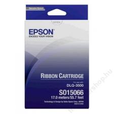 Epson S015066 Festékszalag DLQ 3000 nyomtatóhoz, EPSON fekete (KE015066) nyomtató kellék