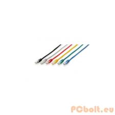 Equip 625427 UTP patch kábel, CAT6, 0,5m piros kábel és adapter