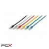 Equip 625432 3m kék cat6 utp patch kábel