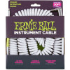 Ernie Ball Coil Cable Straight/Angled White
