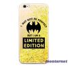 Ert Group Bat Girl 007 Samsung A40 csillámos folyadékos arany hátlap