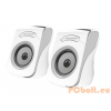 Esperanza Flamenco USB Stereo Speakers White/Grey