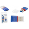 Esperanza USB2.0 microSD kék kártyaolvasó