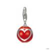 Esprit Anhänger medál ezüst szív Ball piros ESZZ90777C000