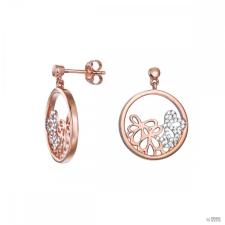 Esprit Női fülbevaló ékszer ezüst RosĂŠ cirkónia Delicate Bouquet ESER92948A000 fülbevaló