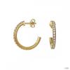 Esprit Női fülbevaló ékszer fülbevaló ezüst arany cirkónia Brilliance ESER92327B000