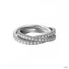 Esprit Női gyűrű ezüst cirkónia Brilliance Triple fehér ESRG91885B1 50 (15.9 mm Ă?)