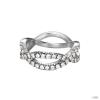 Esprit Női gyűrű ezüst Infinity cirkónia ESRG92332A1 54 (17.2 mm Ă?)