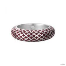 Esprit Női gyűrű ezüst Lattice piros ESRG91919B1 54 (17.2 mm Ă?) gyűrű