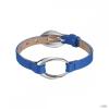 Esprit Női karkötő bőr nemesacél Ovality kék ESBR11423G200