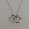 Esprit Női Lánc ezüst nyaklánc Gyűrű Ékszere ESNL013