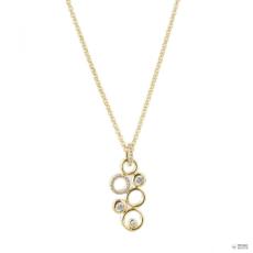 Esprit Női Lánc nemesacél JW50230 arany színű cirkónia ESNL03410B420