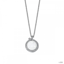 Esprit Női Lánc nyaklánc ezüst cirkónia Ballroom fehér ESNL92046A420 nyaklánc