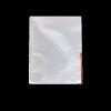 ESSELTE A4 105 mikron felül/oldalt félig nyitott lefűzhető víztiszta piros genotherm