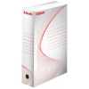 "ESSELTE Archiváló doboz, A4, 80 mm, karton, ESSELTE ""Standard"", fehér"