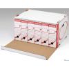 ESSELTE archiváló konténer fehér előre nyíló