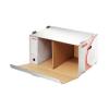 "ESSELTE Archiváló konténer, karton, elõre nyíló, ESSELTE ""Standard"", fehér"