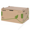 ESSELTE Archiváló konténer, újrahasznosított karton, előre nyíló, ESSELTE Eco, barna (E623919)