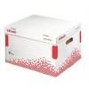ESSELTE Archiváló konténer, újrahasznosított karton, fedé