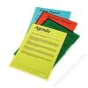 ESSELTE Genotherm, L, A4, 150 mikron, víztiszta felület, ESSELTE Luxus, sárga (E55431)