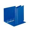 ESSELTE Gyűrűs dosszié, panorámás, 4 gyűrű, 65 mm, A4, PP/PP,  kék